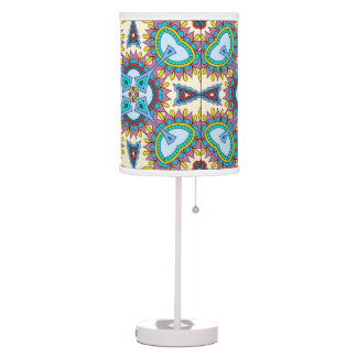 Arabesque Abajur of Table Strong Colors Desk Lamps