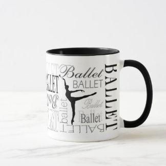 Arabesque Ballet Mug (customizable)