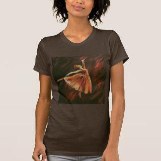Arabesque Dancer Woman's Tee Shirt