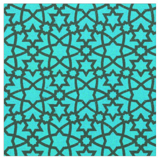 Arabesque grande blue and black fabric