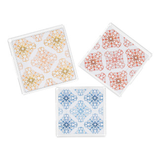 Arabesque in watercolor trays perfume tray