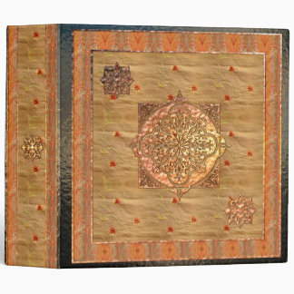 Arabesque Traditional Motif 2 3 Ring Binder