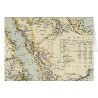 Arabia, Egypt, Nubia, Abyssinia 2 Greeting Card
