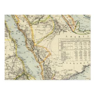 Arabia, Egypt, Nubia, Abyssinia 2 Postcard