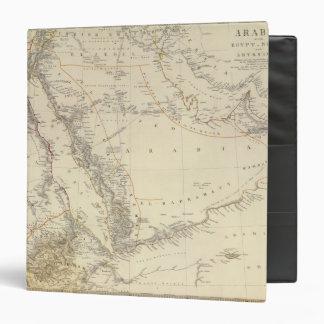 Arabia, Egypt, Nubia, Abyssinia Vinyl Binder