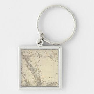 Arabia, Egypt, Nubia, Abyssinia Key Chains
