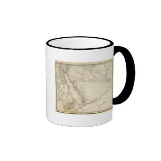 Arabia, Egypt, Nubia, Abyssinia Coffee Mugs