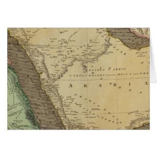 Arabia, Egypt, Nubia Greeting Card