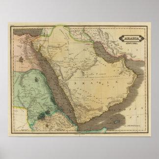 Arabia, Egypt, Nubia Poster