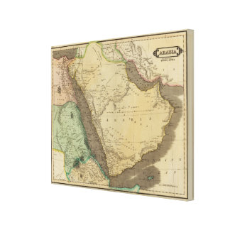 Arabia, Egypt, Nubia Stretched Canvas Prints