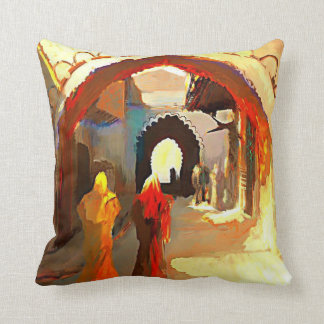 Arabian Classic Painting Pillow