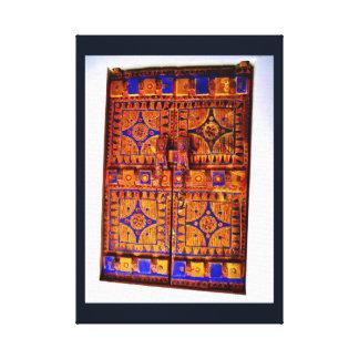 Arabian Door Canvas Print