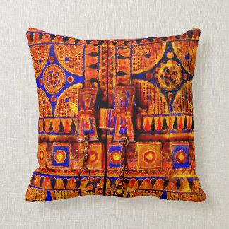 Arabian Door Throw Pillow