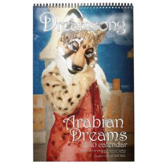 Arabian Dreams 2010 Wall Calendar