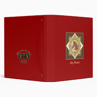 Arabian Equestrian Photo Album 3 Ring Binders