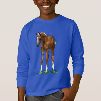 Arabian Foal hooded Kids Sweatshirt