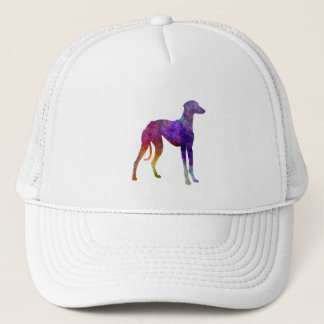 Arabian Greyhound in watercolor Trucker Hat