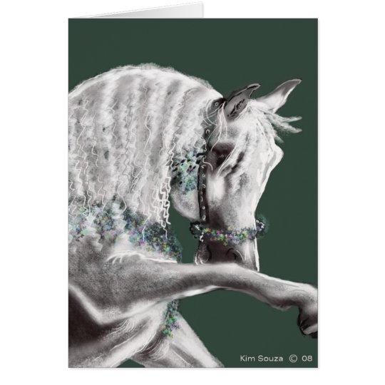 Arabian Horse- Card