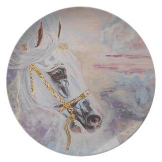 Arabian Horse Decorative Plate