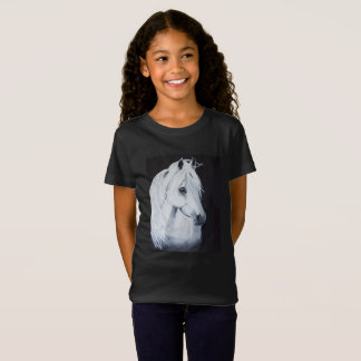 Arabian Horse Girls T-Shirt