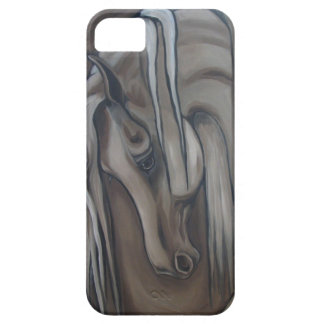 Arabian Horse Gray Case For The iPhone 5
