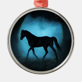 arabian horse metal ornament