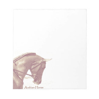 Arabian Horse notepad