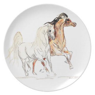 Arabian Horse Plate