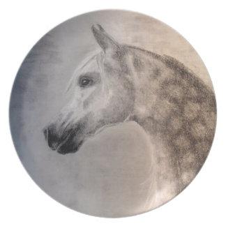 Arabian Horse Plate - Arabian Horse