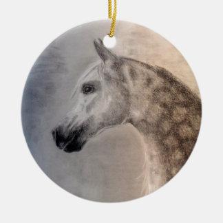 Arabian Horse Round Ornament - Arabian Horse