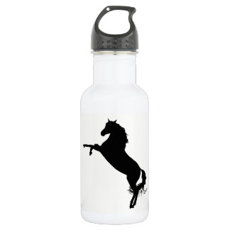 Arabian Horse Silhouette 532 Ml Water Bottle