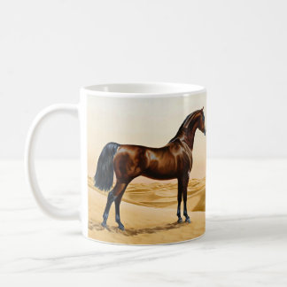 Arabian Horse - William Barraud Coffee Mug