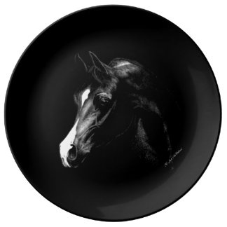 Arabian Magic decorative porcelain plate