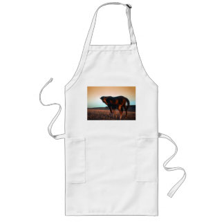 Arabian mare and colt long apron