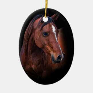 Arabian Mare Ceramic Ornament