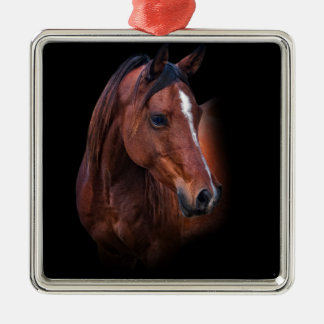 Arabian Mare Metal Ornament