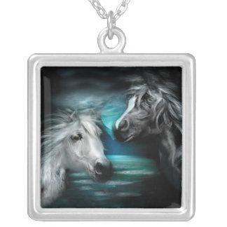 Arabian Moon Wearable Art Necklace