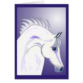 Arabian Nights Custom Equestrian Card