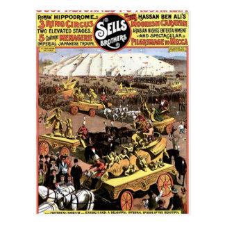Arabian Nights' Entertainment And Spectacular Postcard