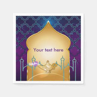 Arabian Nights Moroccan Birthday Party Napkins