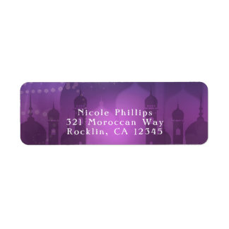 Arabian Nights Moroccan Middle Eastern Purple