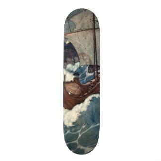 Arabian Nights Sailing Ship Skateboards