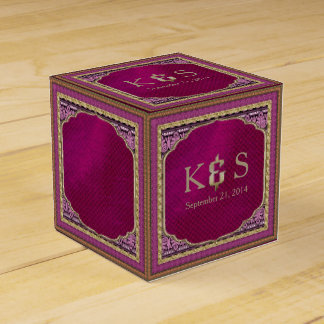 Arabian Nights Wedding ID192 Favor Box