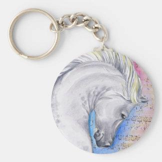 Arabian Song Basic Round Button Keychain