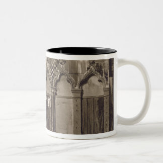Arabian Windows, In Campo Santa Maria Mater Domini Two-Tone Coffee Mug