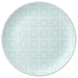 Arabic blue plate