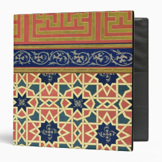 Arabic decorative designs (colour litho) 3 ring binder