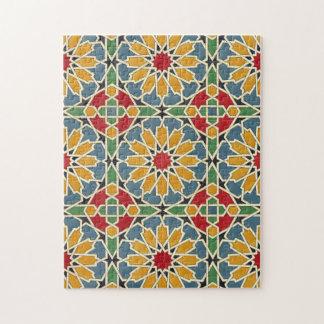 Arabic Design #7 at Emporio Moffa Jigsaw Puzzle