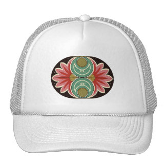 Arabic Floral Hat