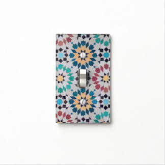 Arabic Mosaic Light Switch Plate